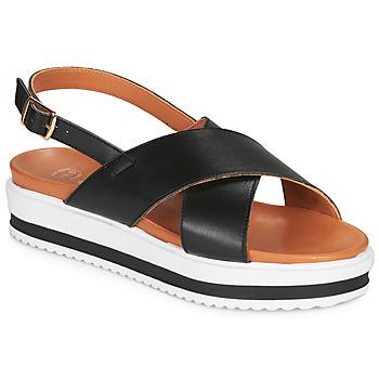 kengät Naiset Sandaalit ja avokkaat Betty London MAFI Black
