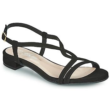 kengät Naiset Sandaalit ja avokkaat Betty London MATISSO Musta