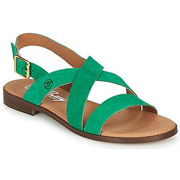 kengät Naiset Sandaalit ja avokkaat Betty London MATOSSI Green