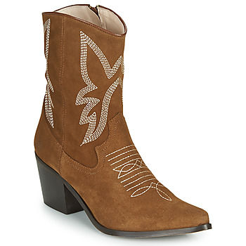 kengät Naiset Nilkkurit Betty London MOSSINO Camel