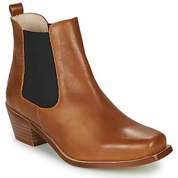 kengät Naiset Nilkkurit Betty London MERKATO Cognac