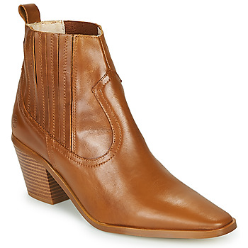 kengät Naiset Nilkkurit Betty London MIRTA Cognac
