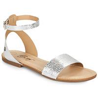 kengät Naiset Sandaalit ja avokkaat Betty London GIMY Hopea