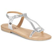 kengät Naiset Sandaalit ja avokkaat Betty London MISSINE Hopea