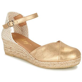kengät Naiset Sandaalit ja avokkaat Betty London INONO Kulta