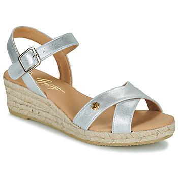 kengät Naiset Sandaalit ja avokkaat Betty London GIORGIA Hopea