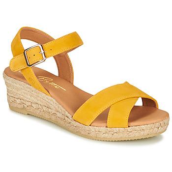 kengät Naiset Sandaalit ja avokkaat Betty London GIORGIA Yellow