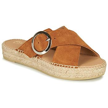 kengät Naiset Sandaalit Betty London MARIZETTE Cognac