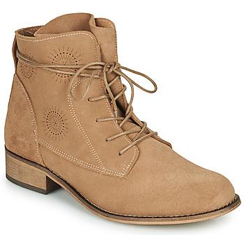 kengät Naiset Bootsit Betty London MARILU Beige
