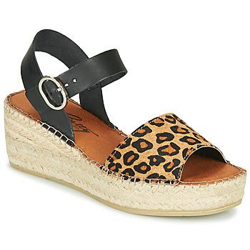 kengät Naiset Sandaalit ja avokkaat Betty London MARILUS Leopardi