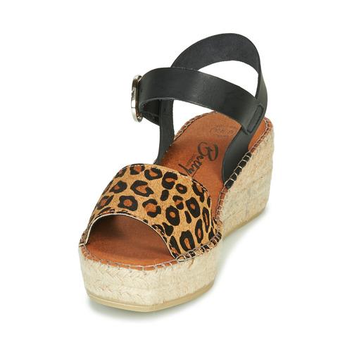 Betty London Marilus Leopardi - Ilmainen Toimitus- Kengät Sandaalit Naiset 61