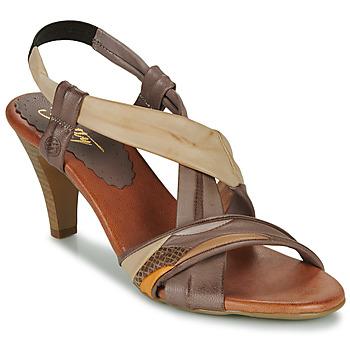 kengät Naiset Sandaalit ja avokkaat Betty London POULOI Camel