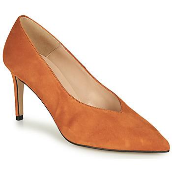 kengät Naiset Korkokengät Betty London  Cognac
