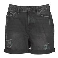 vaatteet Naiset Shortsit / Bermuda-shortsit Noisy May NMSMILEY Black