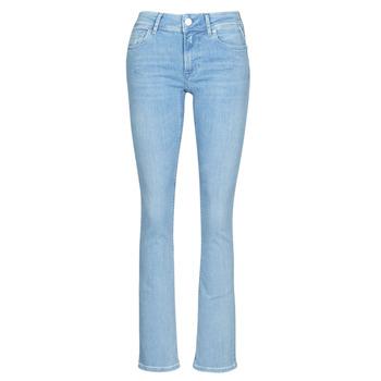 vaatteet Naiset Bootcut-farkut Replay LUZ BOOTCUT Blue