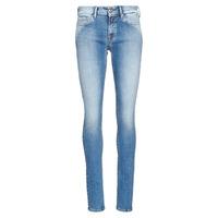 vaatteet Naiset Skinny-farkut Replay LUZ Sininen