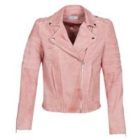 vaatteet Naiset Nahkatakit / Tekonahkatakit Betty London MARILINE Pink
