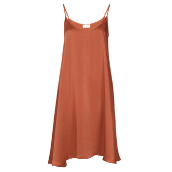 vaatteet Naiset Lyhyt mekko Moony Mood FANETTI Ruskea