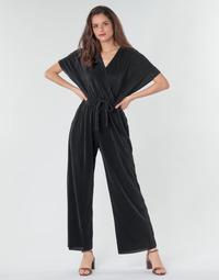 vaatteet Naiset Jumpsuits / Haalarit Moony Mood CLOKES Musta
