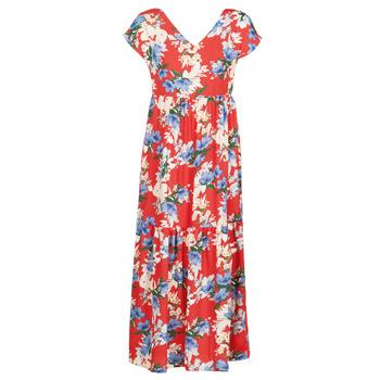 vaatteet Naiset Pitkä mekko Betty London  Red / White / Blue