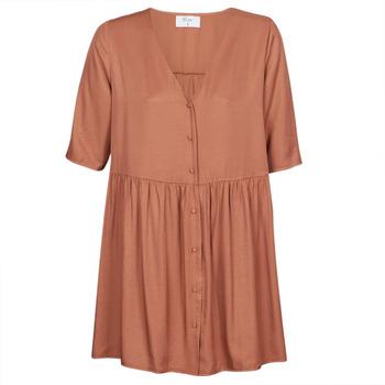 vaatteet Naiset Lyhyt mekko Betty London MOUDENE Brown