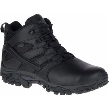 kengät Miehet Vaelluskengät Merrell Moab 2 Mid Response Waterproof Mustat