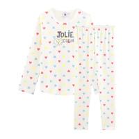 vaatteet Tytöt pyjamat / yöpaidat Petit Bateau FIONA Multicolour