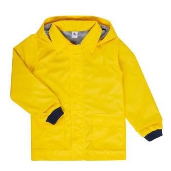 vaatteet Lapset Parkatakki Petit Bateau FATAH Keltainen