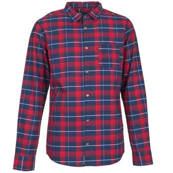 vaatteet Miehet Pitkähihainen paitapusero Rip Curl CONNECTION Red / Blue
