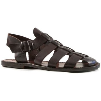 kengät Miehet Sandaalit ja avokkaat Gianluca - L'artigiano Del Cuoio 502 U MORO CUOIO Testa di Moro