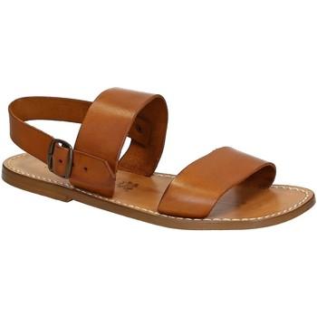 kengät Miehet Sandaalit ja avokkaat Gianluca - L'artigiano Del Cuoio 500 U CUOIO CUOIO Cuoio