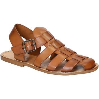 kengät Miehet Sandaalit ja avokkaat Gianluca - L'artigiano Del Cuoio 502 U CUOIO CUOIO Cuoio
