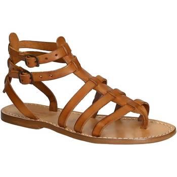 kengät Naiset Sandaalit ja avokkaat Gianluca - L'artigiano Del Cuoio 506 D CUOIO CUOIO Cuoio