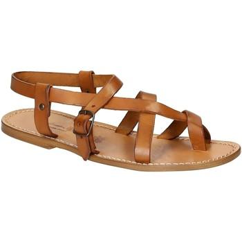 kengät Miehet Sandaalit ja avokkaat Gianluca - L'artigiano Del Cuoio 530 U CUOIO CUOIO Cuoio
