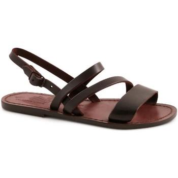 kengät Naiset Sandaalit ja avokkaat Gianluca - L'artigiano Del Cuoio 598 D MORO CUOIO Testa di Moro