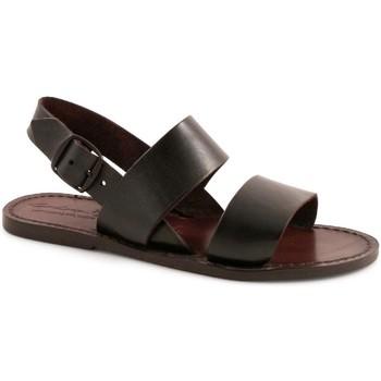 kengät Naiset Sandaalit ja avokkaat Gianluca - L'artigiano Del Cuoio 500X D MORO CUOIO Testa di Moro