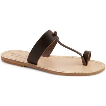 kengät Naiset Sandaalit Gianluca - L'artigiano Del Cuoio 554 U MORO LGT-CUOIO Testa di Moro