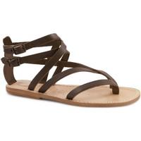 kengät Naiset Sandaalit ja avokkaat Gianluca - L'artigiano Del Cuoio 574 D MORO LGT-CUOIO Testa di Moro