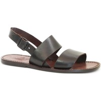 kengät Naiset Sandaalit ja avokkaat Gianluca - L'artigiano Del Cuoio 500X U MORO CUOIO Testa di Moro