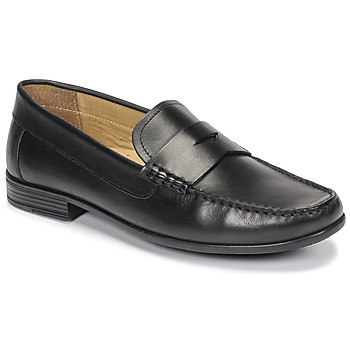 kengät Miehet Mokkasiinit André OFFICE Musta