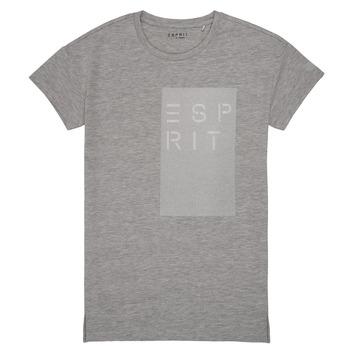 vaatteet Tytöt Lyhythihainen t-paita Esprit EVELYNE Harmaa