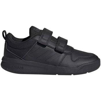 kengät Lapset Matalavartiset tennarit adidas Originals Tensaurus C Mustat
