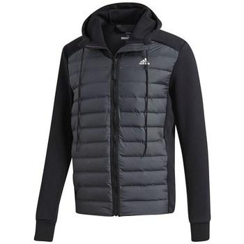 vaatteet Miehet Toppatakki adidas Originals Varilite Hybrid Grafiitin väriset,Mustat