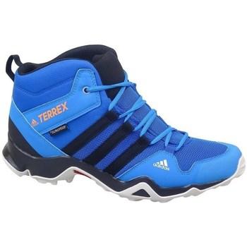 kengät Lapset Vaelluskengät adidas Originals Terrex AX2R Mid CP Turkoosit,Vaaleansiniset