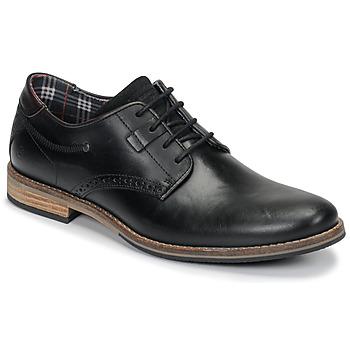 kengät Miehet Derby-kengät André ROLL Black