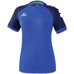 vaatteet Naiset Lyhythihainen t-paita Erima Maillot femme  Zenari 3.0 bleu/bleu/vert clair