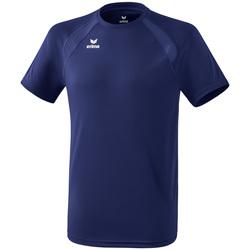 vaatteet Lapset Lyhythihainen t-paita Erima T-shirt enfant  Performance bleu