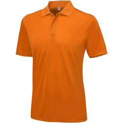vaatteet Miehet Lyhythihainen poolopaita Awdis Smooth Orange Crush