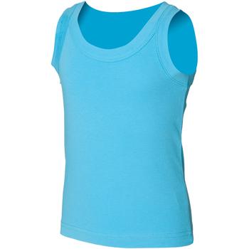 vaatteet Lapset Hihattomat paidat / Hihattomat t-paidat Skinni Fit SM016 Surf Blue