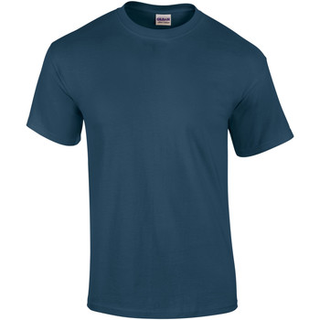 vaatteet Miehet Lyhythihainen t-paita Gildan Ultra Blue Dusk